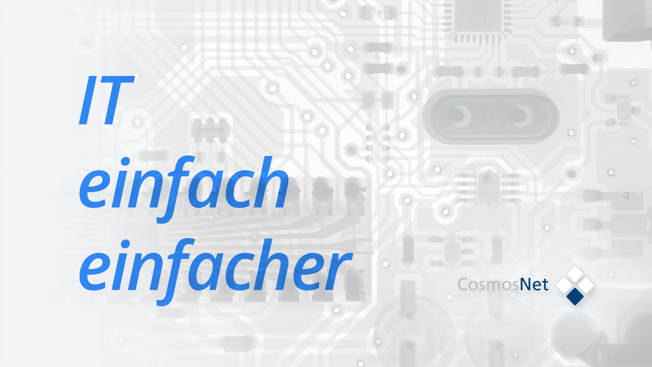 Managed IT Services - IT einfach einfacher